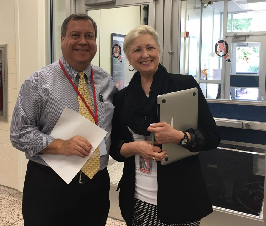 Interim Principals, Mr. Winkler and Dr. McNamara, came out of retirement to help O'Hara Elementary. Both have ties to the school district and have dedicated their lives to public education.