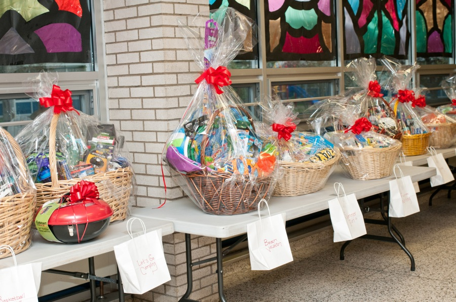 Photo credit: Photos by Danelle - Baskets on display at the 2016 O'Hara Multicultural Night