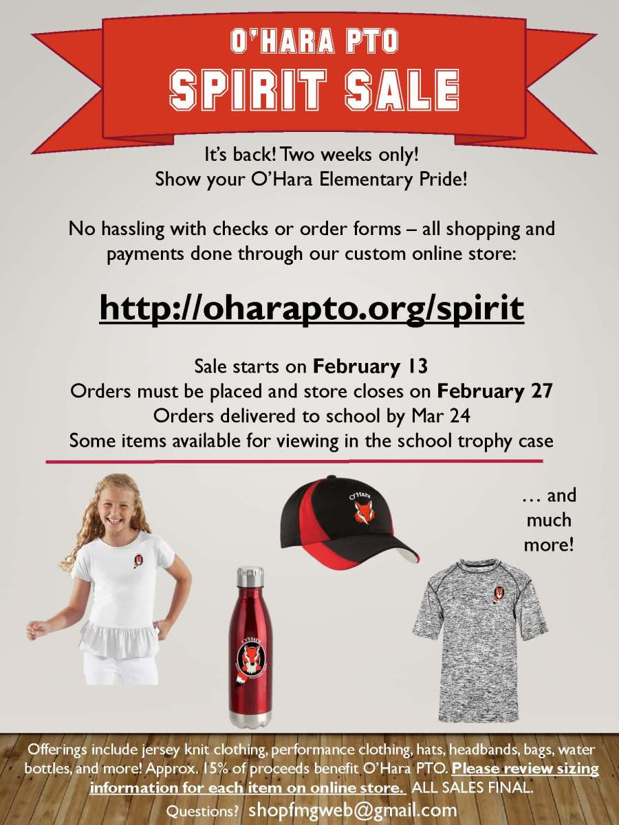 ohara-spirit-sale-announcement