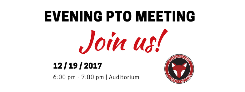 O'Hara PTO MEETING