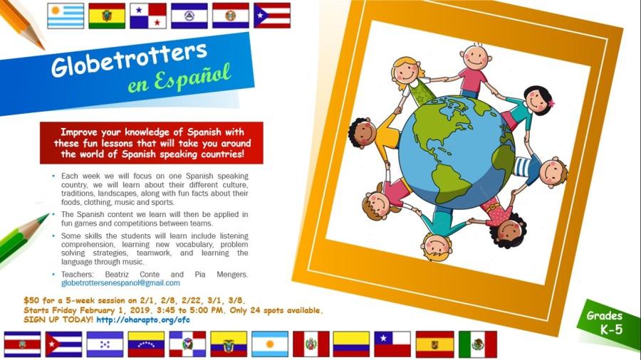 globetrotters en español flyer